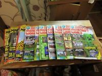 10 minecraft magazines world and independent and unofficial guides joblot