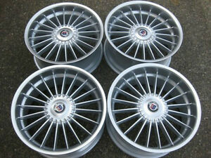 "RARE 19"" staggered ALPINA classic rims with caps showrm cond"