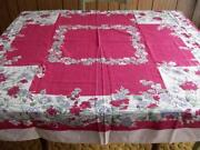 Vintage Tablecloth Garden