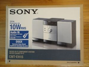 Small Stereo, Sony CMT-EH15