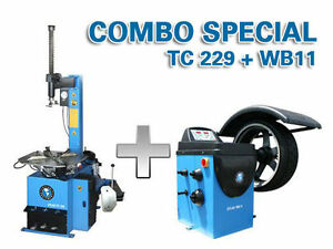 ATLAS - TIRE CHANGER / WHEEL BALANCER TC229 / WB11 - CLENTEC