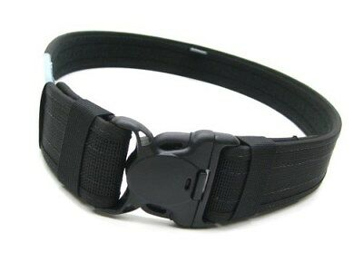 Bianchi 31323 Large 40-46 Waist Black 8100 Patrol Tek 2 Web Duty Belt
