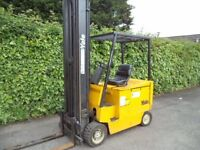 Yale 2.5 ton electric counterbalance forklift truck/ 6.8m lift height