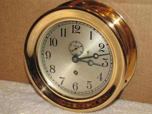 Antique Ships Clock Ebay