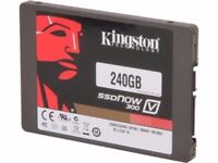 "Kingston SSDNow V300 240GB, Hard Drive SSD 240G, 2.5"" 3 Years Warranty,(6Gb/s)"