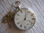 Sterling Silver Pocket Watch Chain