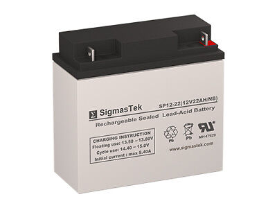 - Sealed Lead Acid 12 Volt 22 Amp Replacement Battery by SigmasTek