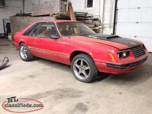 1983 Ford Mustang T-Top