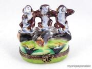 Limoges Monkeys Box