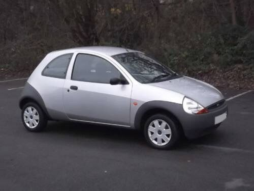Ford Ka Silver  Plate Low Mileage New Mot