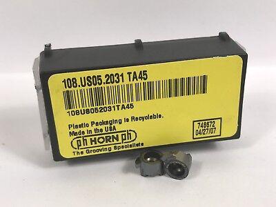 Ph Horn 108.us05.2031 New Carbide Inserts Grade Ta45 2pcs Ab
