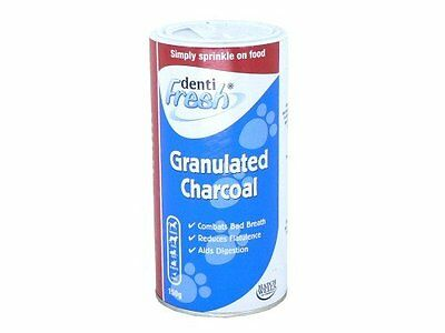 Hatchwells Granulated Charcoal for Horse, Dog, Cat 150g x 6 pack