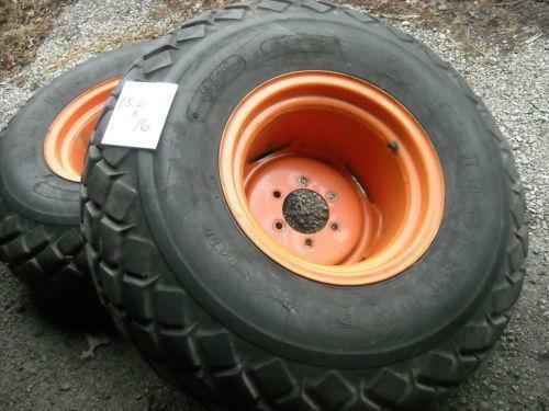 Used Kubota Tractor Wheel : Tires and rims kubota tractor