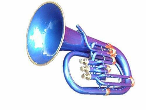 ROCKING SALE Sai Musical India Euphonium Peu-225. Bb, 3 Valve (Blue)