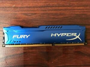 Kingston Hyper X Fury 8gb 240 Pin 1866MHz DDR3 Memory