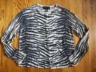 August Silk Animal Print Silk Sweaters for Women