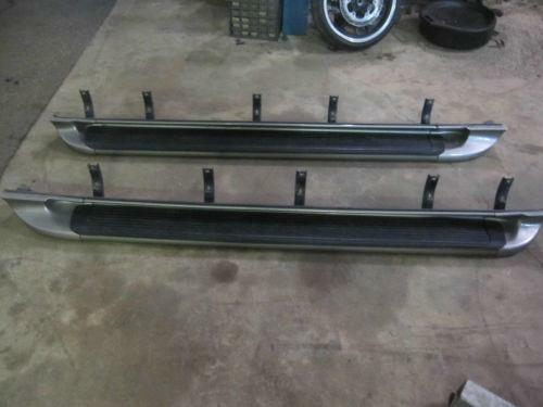 Gmc oem running boards autos post for 2001 chevy tahoe window motor replacement