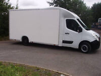 HUGE VAN! Man with a Van, House Removals, Office Removals, Removals, House Move, Collection, Courier