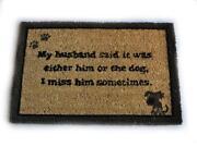 Dog Door Mat