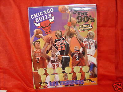 - Chicago Bulls Team of 90's 16 X 20 Laminate NBA Poster