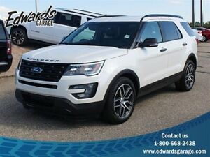 2017 Ford Explorer Sport Htd/Cld Sunroof Adaptive Cruise