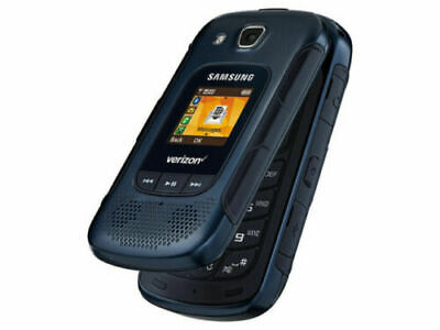 Samsung Convoy 4 Blue Rugged Flip Cellular Phone SM-B690V  4G LTE Verizon
