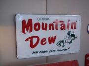 Mountain Dew Sign