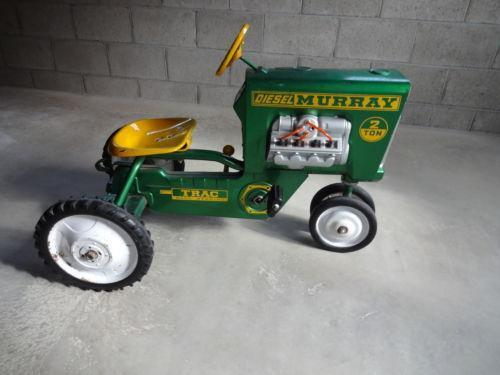 Tractor Pedal Car Parts : Murray pedal tractor ebay