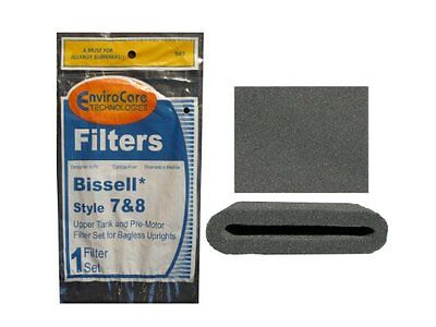 (1 Set) Bissell Vacuum style 7/8/14 Foam Filter Kit 3093