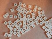 Plastic Scrabble Tiles
