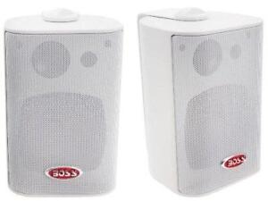 Boss Audio MR4.3W 200W Indoor/Outdoor Weatherproof 3-Way Speaker