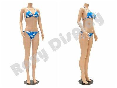 Female Plastic Mannequin Display Dress Form Ps-957-04f