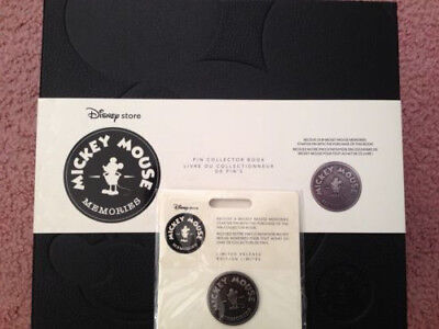 NEW Disney Store Mickey Mouse Memories Limited Release Pin Collector Book 2018