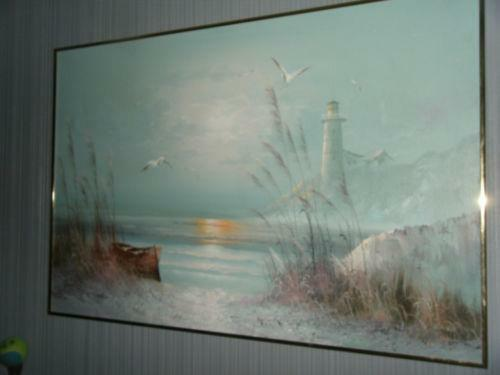 M Caroselli Oil Painting