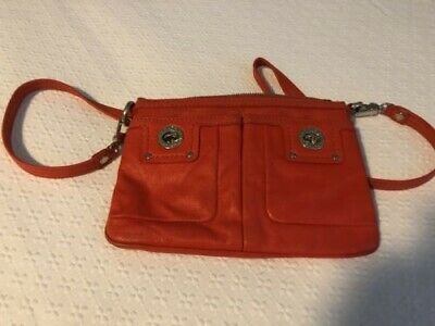 marc by marc jacobs crossbody ORANGE LEATHER