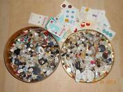 Huge Lot Vintage Buttons