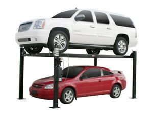 Parking lift stationnement Approuve CSA Machine a pneu Hoist