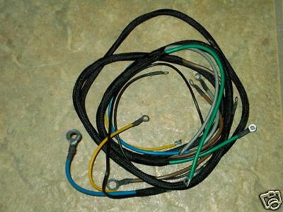 Farmall Super M Mta Lp Gas Main Wiring Harness. New