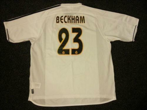 Beckham Real Madrid Shirt  abc24070b