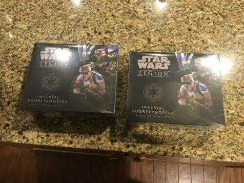 Star Wars Legion Imperial Shoretroopers x2 Sealed NEW