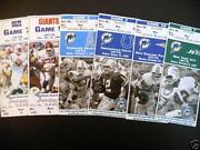 Miami Dolphins Ticket Stubs