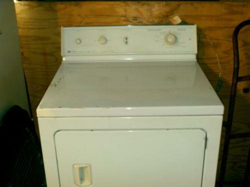 Used Gas Dryer Ebay