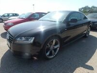 AUDI A5 S LINE BLACK EDITION REAR WHEEL BULT FOR SALE SPARES REPAIR BREAKING