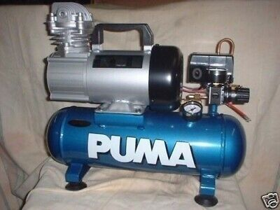 Puma 1006 12 Volt Hot Dog 1.5 Gallon Oil Less Air Compressor Free Shipping
