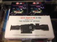 ATN X-Sight II HD 3-14x Day & Night Rifle Scope DGWSXS314Z Rangefinder WiFi GPS