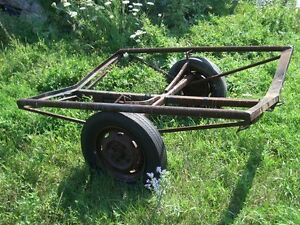 Wanted older boat trailer reasonable