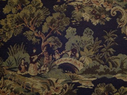 Oriental Toile Fabric Ebay