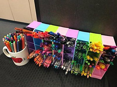 Pens Holder Student Desk Organizer Pen Storage School Accessories Office Supplie