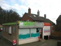 Vacant newsagents store for sale/rent.