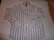 Mens Express White Dress Shirt